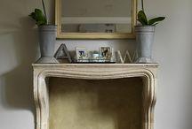 Fireplace / by Kimberly Tatum