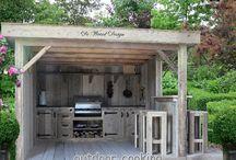 courtyard shed