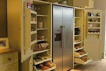 Storage in the kitchen