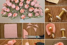 Wonderful Chocolate and Crepe Paper Flower