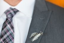 Men's Boutonnieres / Get inspired with these beautiful wedding boutonnieres for men!