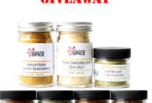 GIVEAWAY / GIVEAWAY STARTS Saturday, November 29, 2014 and ends on December  6, 2014 at 11:59PM, PST  WINNER GETS Southeast Asian Spice Set from Season with Spice.