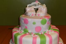 My Baby Girl Baby Shower Cakes / Girl Baby Shower Cakes