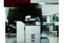 Ricoh MPC3503SP / With the MP C3503SP fast print meets high quality output. Print on paper up to 300gsm in weight and SRA3 in size allowing crop marks for proofing. An internal finisher saves space and is able to punch and staple for sophisticated finished documents. High quality colour prints and copies are generated at a fast 35 A4 pages a minute, making this multifunction colour printer ideally suited for busy workgroups. For more information contact us: social@smartprint-uk.com