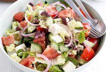 Greek Salads / Recipes