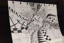 Zentangle pattern / Photo sharing