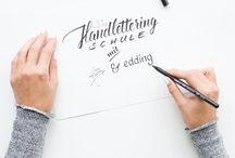 handlettering und fonts