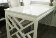 Fun Furniture / Painted, lacquered, DIY - good ideas + inspiration.