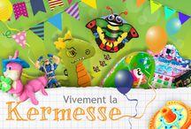 KERMESSE 2014 / Chaque année au mois de juin, pendant que certains passent des examens, dans les écoles on fait la fête !