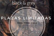 "Seminario / Masterclass de TATUAJE ""Black & Grey"""