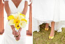 Hochzeit gelb