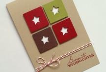 Christmas Cards Ideas / De jolies cartes pour une belle saison ! / by Patricia Neyt