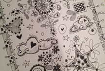Craft - Drawing Zentangle