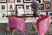 Hot Pink / by Hampton Hostess CG3 Interiors-Barbara Page Home