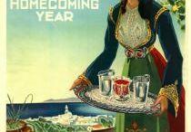 greek travel posters
