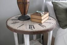 Painted Furniture: Side Tables & Nightstands
