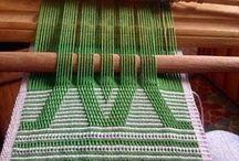 tejidos en telar