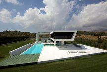 Dream Buildings, Interiors and Gardens