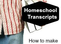 Homeschooling High School / Find everything you need to know to homeschool high school.  Information about lesson plans, organization, and how to create a high school transcript.  #HomeschoolHighSchool #Homeschool #HighSchool