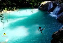 Blue Hole (Secret Falls) /  The Blue Hole also called Secret Falls in Ocho Rios is arguable Jamaica's best waterfalls. The Blue Hole permits diving, jumping, rope swinging and just river frolicking. If you been to other falls before now it's the time to enjoy the best.  At the Blue Hole Secret Falls a personal guide will escort you through this exhilarating experience. Best Jamaica uses only the best guides at the Blue Hole Secret Falls because we are the Guardian of your satisfaction. Blue Hole is simple the BEST.