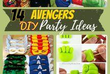 marvel avengers birthday party