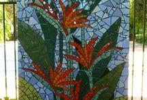 Wall mosaic ideas