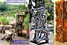 TRÔNES EN FOLIE -TRÔNE EN  DELIRE / César Baldaccini, dit César, sculpteur Professeur Chef d'Atelier à l'Ecole Nationale des Beaux Arts pousse alain GIRELLI à créer des « trônes en délire »