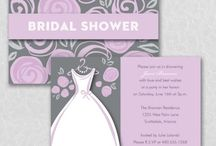 Bridal Shower Ideas / Lovely ways to shower the Bride and lovely Bridal Shower Invitations