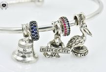 Marine Corps Charms / Sterling Silver Military Charms Marine Duty Stations Eagle Globe and Anchor Marine Mom Marine Wife Marine Brat Semper Fi Nomades www.nomadescollection.com