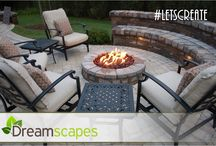 Buffalo Patio Ideas / Patios designed and installed by Dreamscapes.