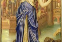 Paintings Conservation Campaign / The De Morgan Foundation is seeking donations to undertake vital conservation on significant paintings by Evelyn De Morgan, The ten paintings here have been identified as those in most urgent need of attention. To help us raise the £40,000 needed to carry out the conservation work, you can donate on our website: http://www.demorgan.org.uk/donate