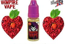 Vampire Vape E-Liquid / Vampire Vape is a brand of UK made E-Liquids. They are 60%PG / 40% VG mix and are available in a range of great flavours.