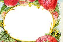 ягоды  рукты  овощи