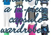 summer capsule wardrobe / 10 patterns, 12 graphic pieces, 1 perfect summer capsule wardrobe