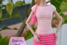 Crochet p/muñecas