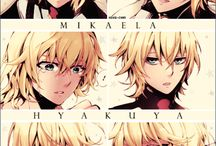 Mika (and Yuu...)- Owari no Seraph / Seriously, Mika is the only reason to watch this anime...  / by Hailea Verduga Fiona