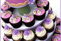 Cupcake De Rosas