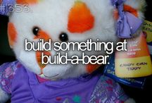 Bucket list things I've done