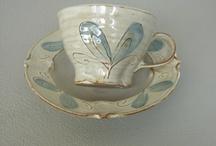 Pottery from my studio / Stoneware studio pottery from Kajsa Leijström Kajsas konst & keramik, Kivik, Sweden