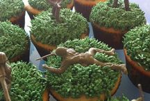 Cash birthday cupcakes