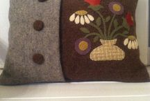 wool applique / by Louise Jalowiec
