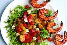 Grilling / Make the most of sunny days with these easy grilling recipes that get you out of the kitchen and into your backyard. We've got every course covered, from appetizers and salads to main dishes -- and even dessert!