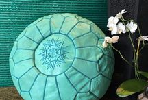 Moroccan Poufs / Get handcrafted authentic leather Moroccan Poufs at unbeatable prices. Our poufs are versatile, comfortable and an ideal option for any room from the living room to the playroom.