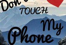 No toques mi celular (Don't touch my phone) / Portada de celular