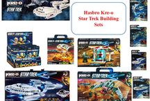 Hasbro Kre-O Star Trek Building Sets / Hasbro's KRE-O Star Trek Construction Sets - based on Star Trek Into Darkness - are available now.