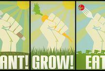 Grow Food / vegetable, fruit and herb gardening; urban gardening; food self sufficiency,