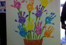 bouquet de fleurs mains