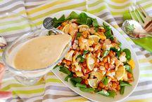 Karnabahar ve nohutlu tahinli salata