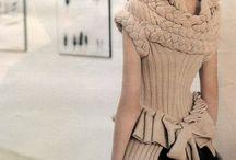 Modely- pletené,háčkované