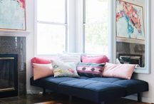 Pretty in Pink / Pink can be bold or understated, and can be a great addition to any room.